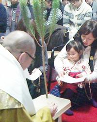 新年祈祷会・修正会