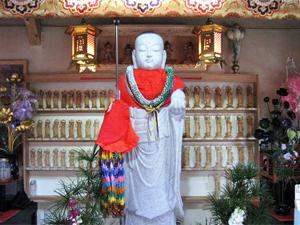 北向誓願地蔵菩薩石像